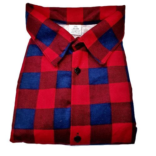 Koszula flanelowa POLSKA W KRATĘ BAWEŁNA K9
