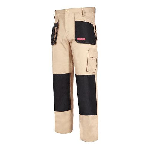 Spodnie ROBOCZE bawełna beżowe Lahti Pro L40501