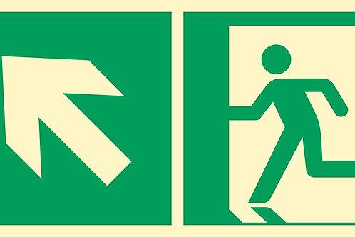 Kierunek do wyjścia w lewo, w górę FS