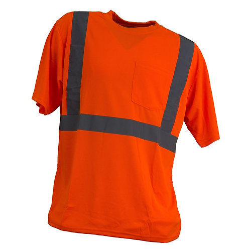 T-shirt koszulka ostrzegawcza URG-HV-PAM pomarańczowy