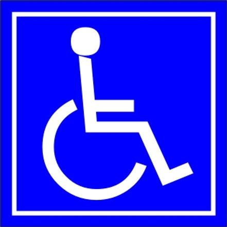 Oznaczenie dla niepełnosprawnych P