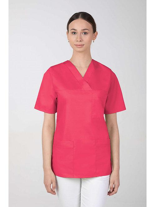 Bluza medyczna damska RÓŻOWA M-074 MARTEX