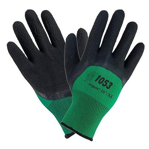 Rękawice robocze powlekane latexem 1053 urgent