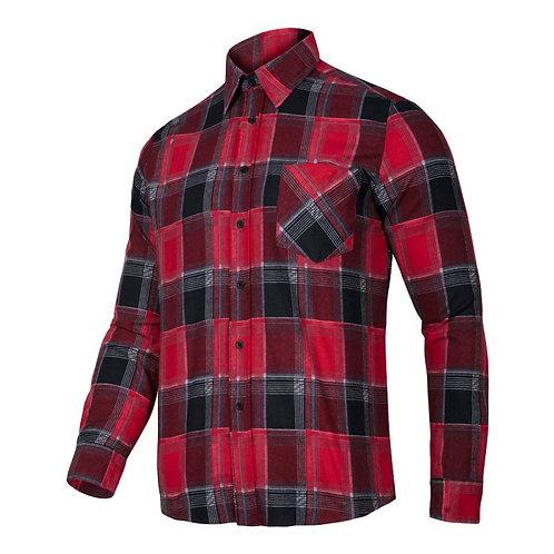 Lahti Pro koszula flanelowa LPKF1 czerwona