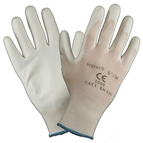 Urgent rękawice impregnowane pokryte gumą 1008