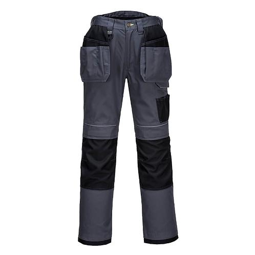 Spodnie robocze szare z kaburami PW3 T602 Portwest