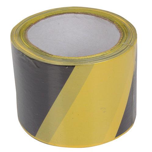 Taśma ostrzegawcza żółto-czarna 13167