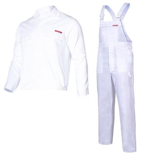 Lahti Pro ubranie robocze komplet białe LPQC