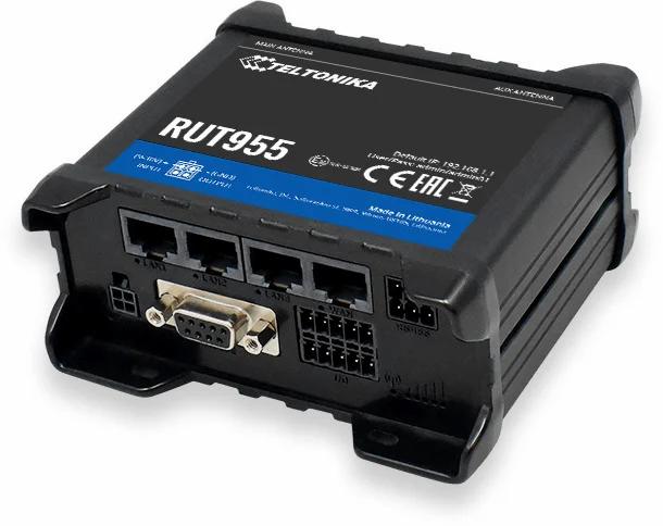 RUT955 mobiilireititin 4G dual sim wlan