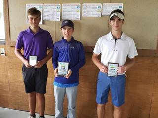 Fort Wayne Parks and Recreation Junior Golf Tournament Winners
