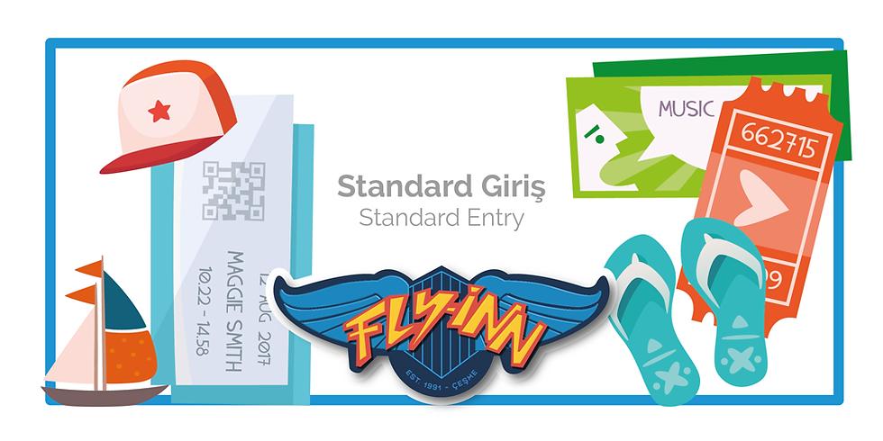 2019 Standard Giriş / Standard Entry