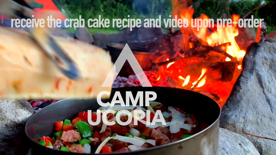 A quick look into the CampUcopia Cookbook-- The ultimate adventure camping cookbook