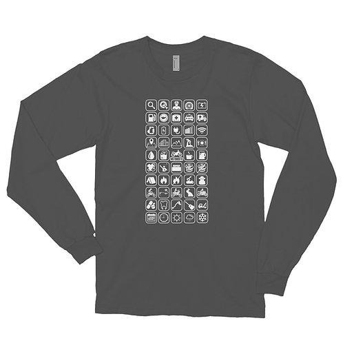 MOTO MOUTH   ∞   Unisex Long sleeve t-shirt