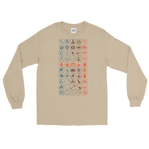 MOTO MOUTH   ∞   Men's Long Sleeve Shirt