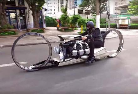 When Time & Money Are Plenty-futuristic-Story Moto ADV Internet Oddest Motorcycles