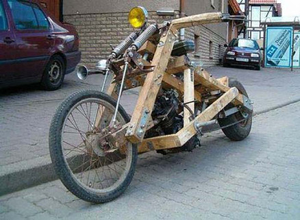 Wood You Look There-Wooden Motorcycle-Story Moto ADV Internet Oddest Motorcycles