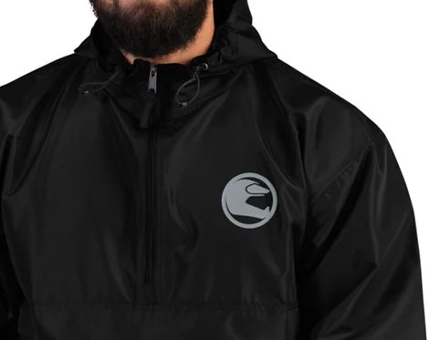 STORY MOTO≈ONE    ∞    Embroidered Champion Packable Jacket