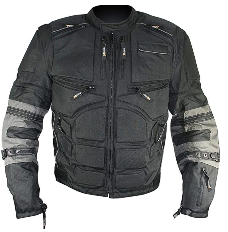 Xelement MORPH riding jacket front view