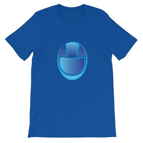 BRAIN BUCKET BLUE   ∞   Unisex T-Shirt