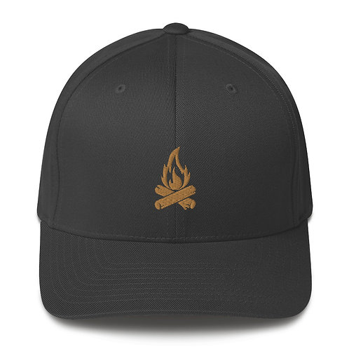 FIRE BRAINED   ∞   Embroidered Structured Twill Cap