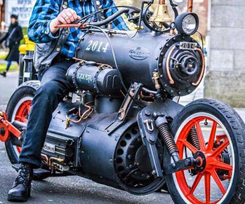 Ya, Ive Been Known To Tinker-Story Moto ADV Internet Oddest Motorcycles