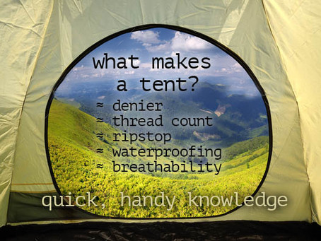 What Makes A Camping Tent Worthy or Trash? ≈ Intel Is Same As Ca$h