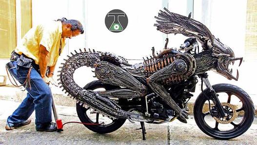 Wasting Motorcycles-Story Moto ADV Internet Oddest Motorcycles