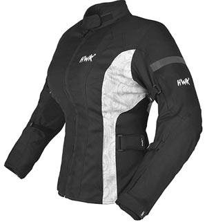 HWK Adventure women's riding jacket in black recommended by Story Moto ADV