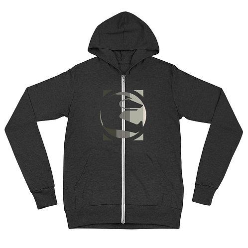 STORY MOTO≈ICONz FLAG   ∞   Unisex zip hoodie