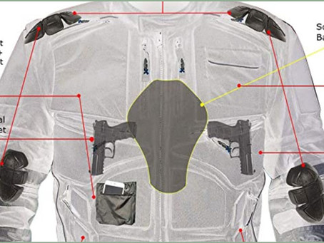 CONCEAL CARRY Motorcycle Jacket From USA~  100 Bucks & Bad@ss: Meet MORPH