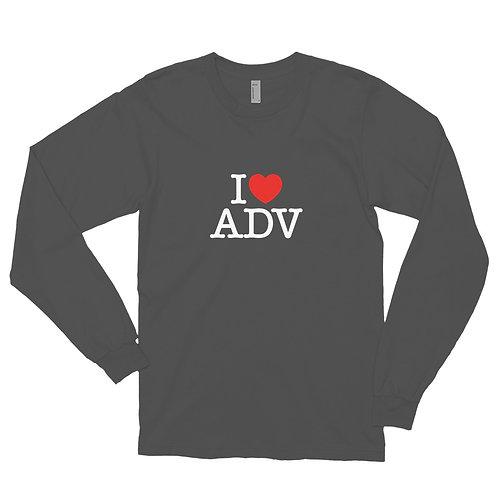 I HEART ADV   ∞   Unisex Long sleeve