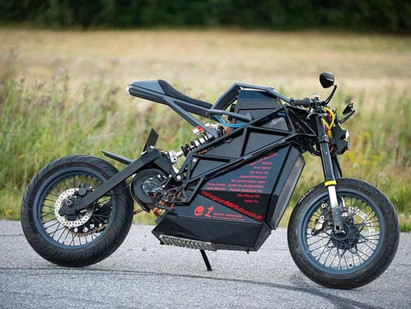 This is An Insect-Custom Electric Motorcycle-Story Moto ADV Internet Oddest Motorcycles