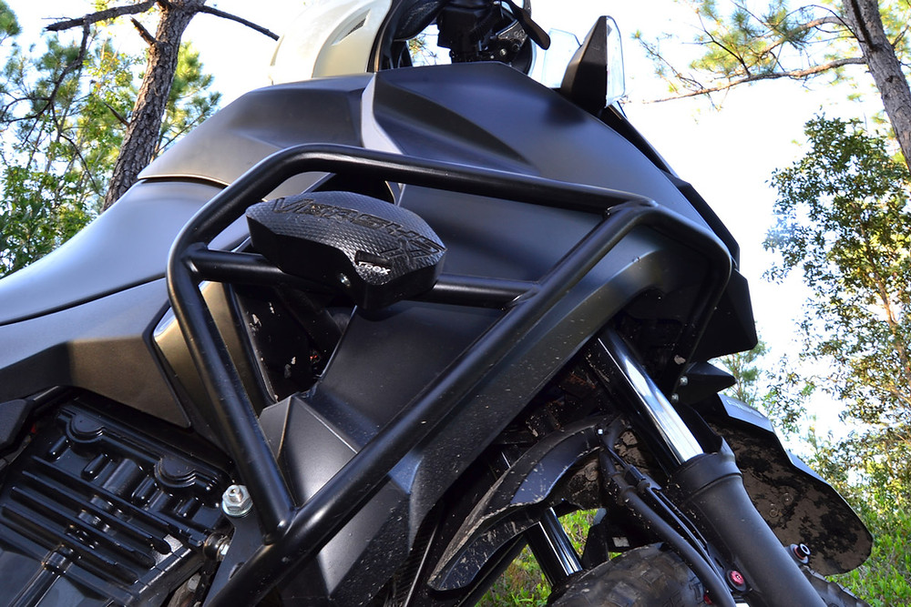 Versys X 300 with Crash Guards- Mods by Story Moto ADV