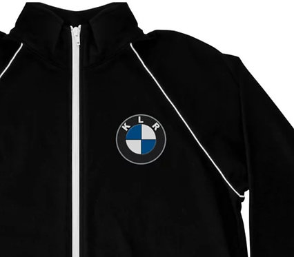 KLR... 6TH GEAR THIS   ∞   Embroidered Piped Fleece Jacket