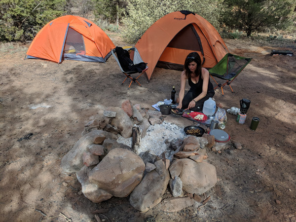 Camp Cooking with Bonnie J of Story Moto ADV
