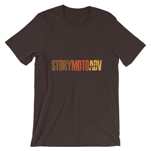 STORY MOTO≈TRIBE RETRO   ∞    Unisex Short-Sleeve T-Shirt
