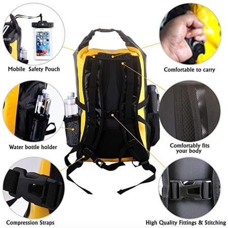 Vitchelo Dry Bag Features recommended by Story Moto ADV