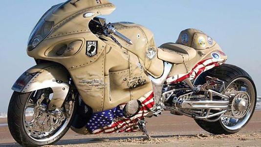 Probably Pretty Slow Right-Beast Crotch Rocket-Story Moto ADV Internet Oddest Motorcycles