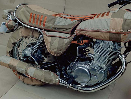 It Puts the Lotion On Its Skin-custom motorcycle-Story Moto ADV Internet Oddest Motorcycles