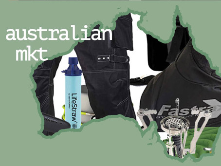 AUSTRALIAN MKT: $TUPIDLY Affordable Adventure Riding Gear