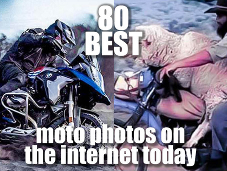 80 BEST MOTORCYCLE PICS: Action & Oddities Motorcycle Photos From Around The World