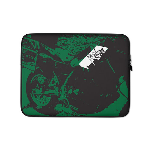 6th GEAR KLR   ∞   Laptop Sleeve