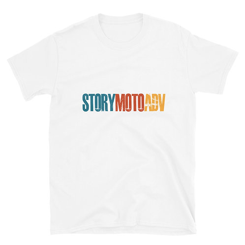 STORY MOTO≈TRIBE RETRO Unisex Short-Sleeve T-Shirt