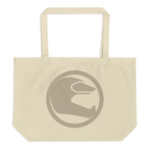 STORY MOTO≈ICONx   ∞   Large organic tote bag