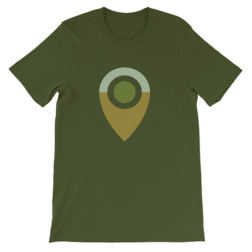 ABREAST OF LOCATION   ∞  Unisex  Short-Sleeve T-Shirt