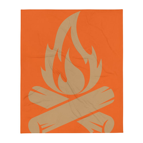 CAMPO FUEGO  ∞   Throw Blanket