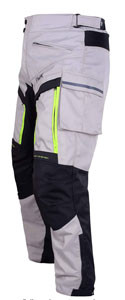 Side view of Cargo  HWK Motorcycle Riding pants recommended by Story Moto ADV