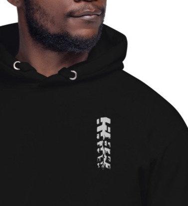 TREAD ON ME   ∞    Embroidered Unisex Premium Hoodie