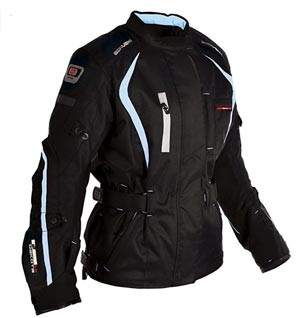 Oxford Dakota Women's riding jacket blue detailed-recommended by Story Moto ADV