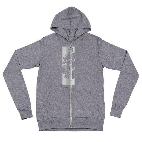 MOTO MAN   ∞   Unisex zip hoodie